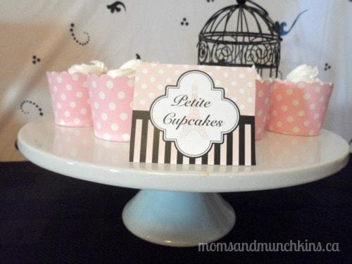 Paris Baby Shower Dessert