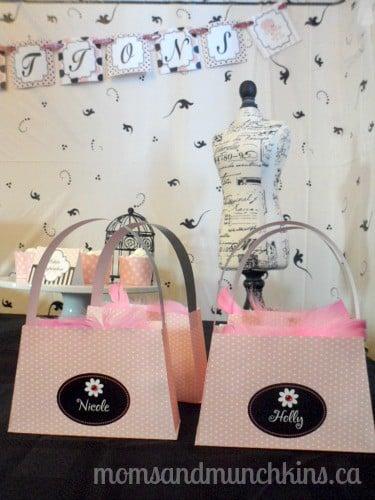 Paris Baby Shower Favors