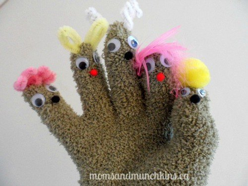 Hand Puppet Craft