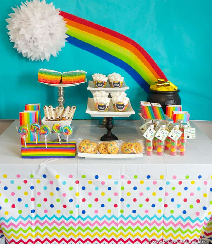 Rainbow Party - St. Patrick's Day Party Ideas