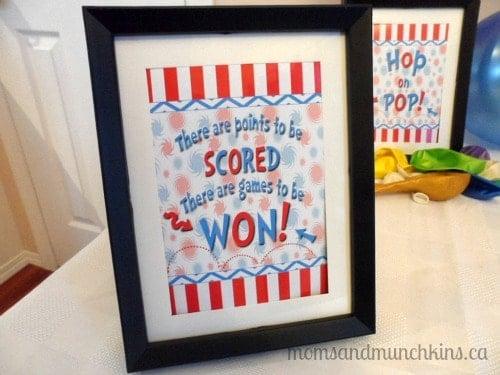 Dr Seuss Birthday Party Game Ideas
