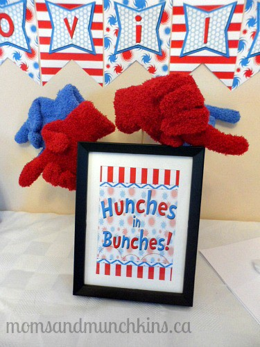 Dr. Seuss Birthday Party Hunches