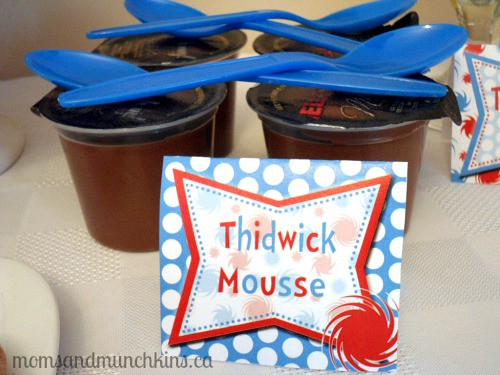 Dr. Seuss Birthday Party Food Mousse