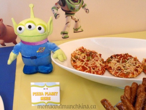Toy Story Party Food Pizza