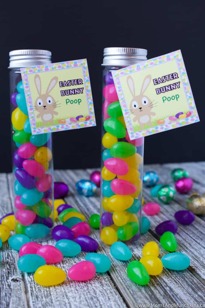Easter Bunny Proof - Easter Bunny Poop Printable