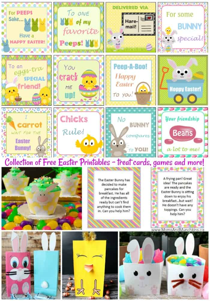 Free Easter Printables Collection
