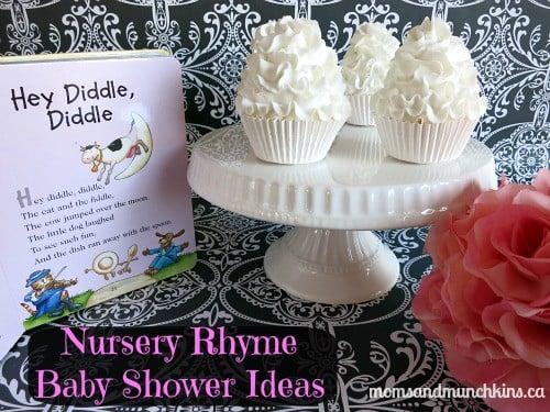 Nursery Rhyme Baby Shower Moms Amp Munchkins