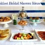 Breakfast Bridal Shower