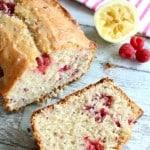 Raspberry Lemon Bread