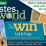 Sobeys Tates of the World Contest