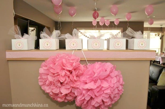 Ballerina Birthday Party amp Tutu Cute Ideas Moms Munchkins