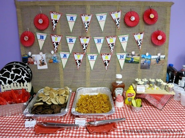 Farm animal birthday party ideas moms munchkins for Animal party decoration ideas