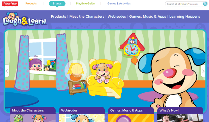 Fisher price laugh and learn puppy songs videos