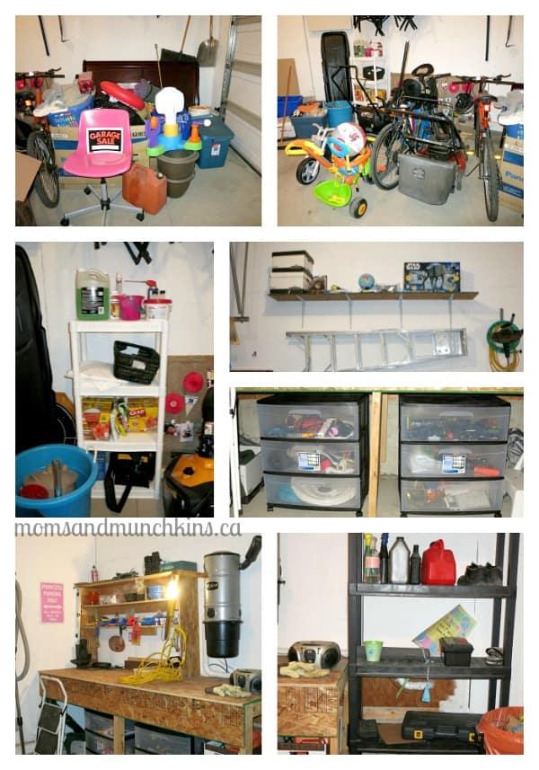 Garage Reorganization Project