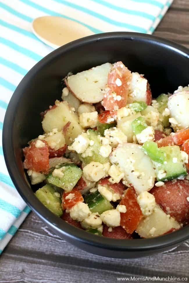 Greek Potato Salad - Potato Salad Recipes