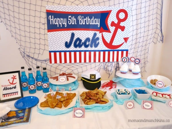 Sailor Party Ideas