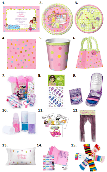 Sleepover Supplies Slumber Party Ideas For All Ages Moms amp Munchkins
