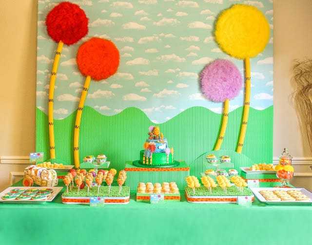 Simple Birthday Decoration On Wall : The party wall tip tuesday moms munchkins