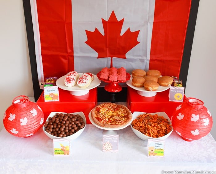 Canada Day Party Food
