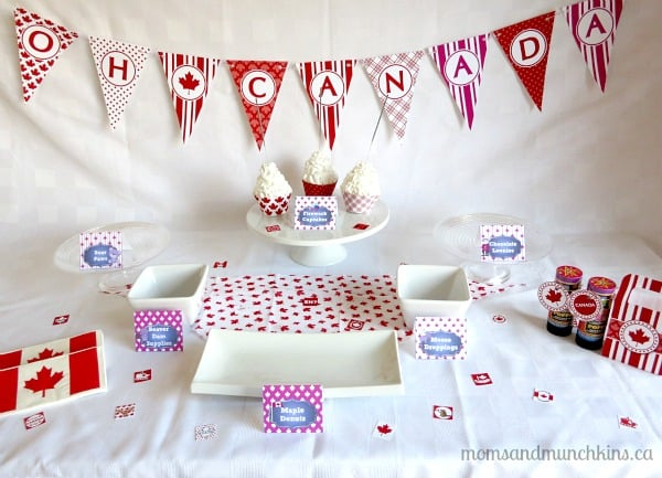 Canada Day Printables - Party Supplies