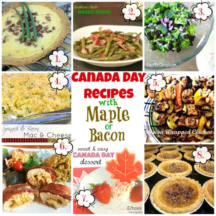 Canada Day Printables & Recipes