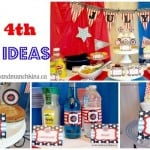 July 4th Party Ideas Collage