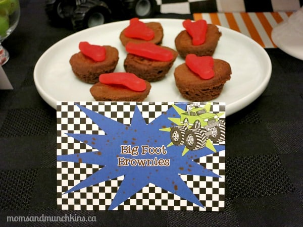 Monster Truck Birthday Food