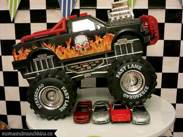 Monster Truck Birthday Decorations
