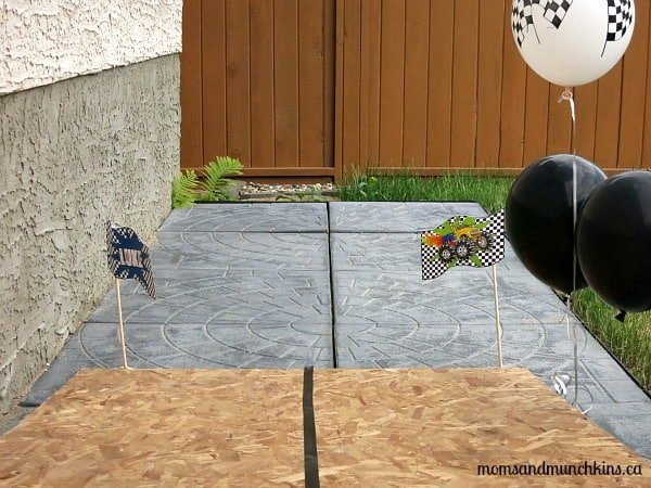 Monster Truck Birthday Games