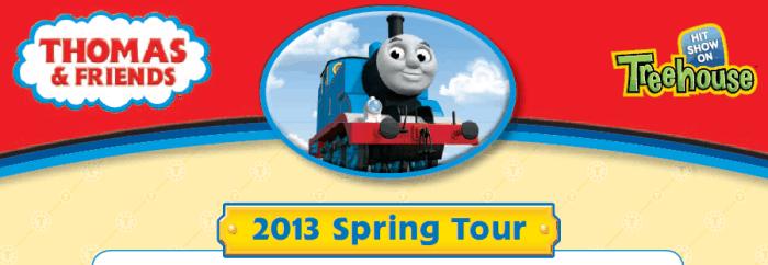 Thomas Live Tour