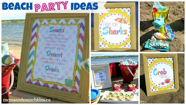 Birthday Party At Mothers Beach Image Inspiration of Cake and