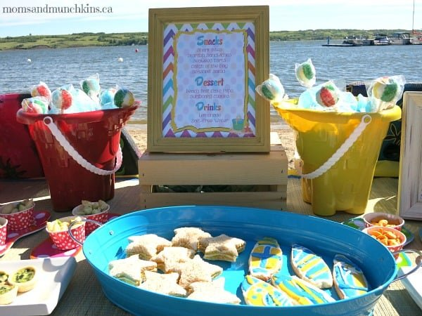 Beach Party & Beach Birthday Party Ideas - Moms u0026 Munchkins