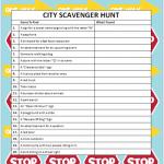 City Scavenger Hunts