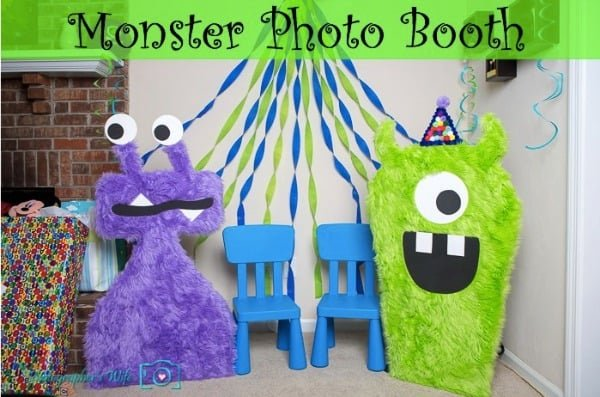 Monster Party Photo Booth