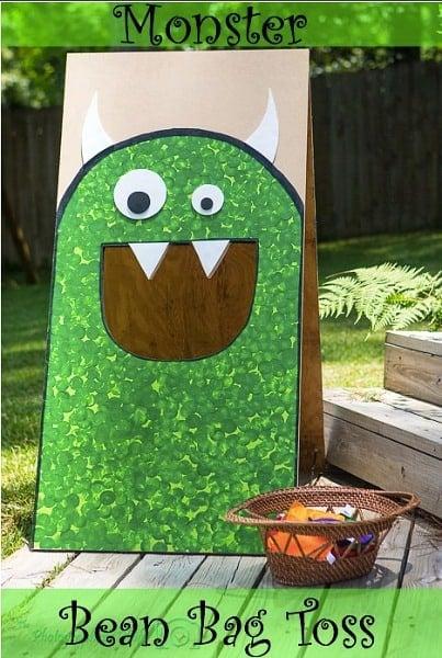 Monster Party Bean Bag Toss