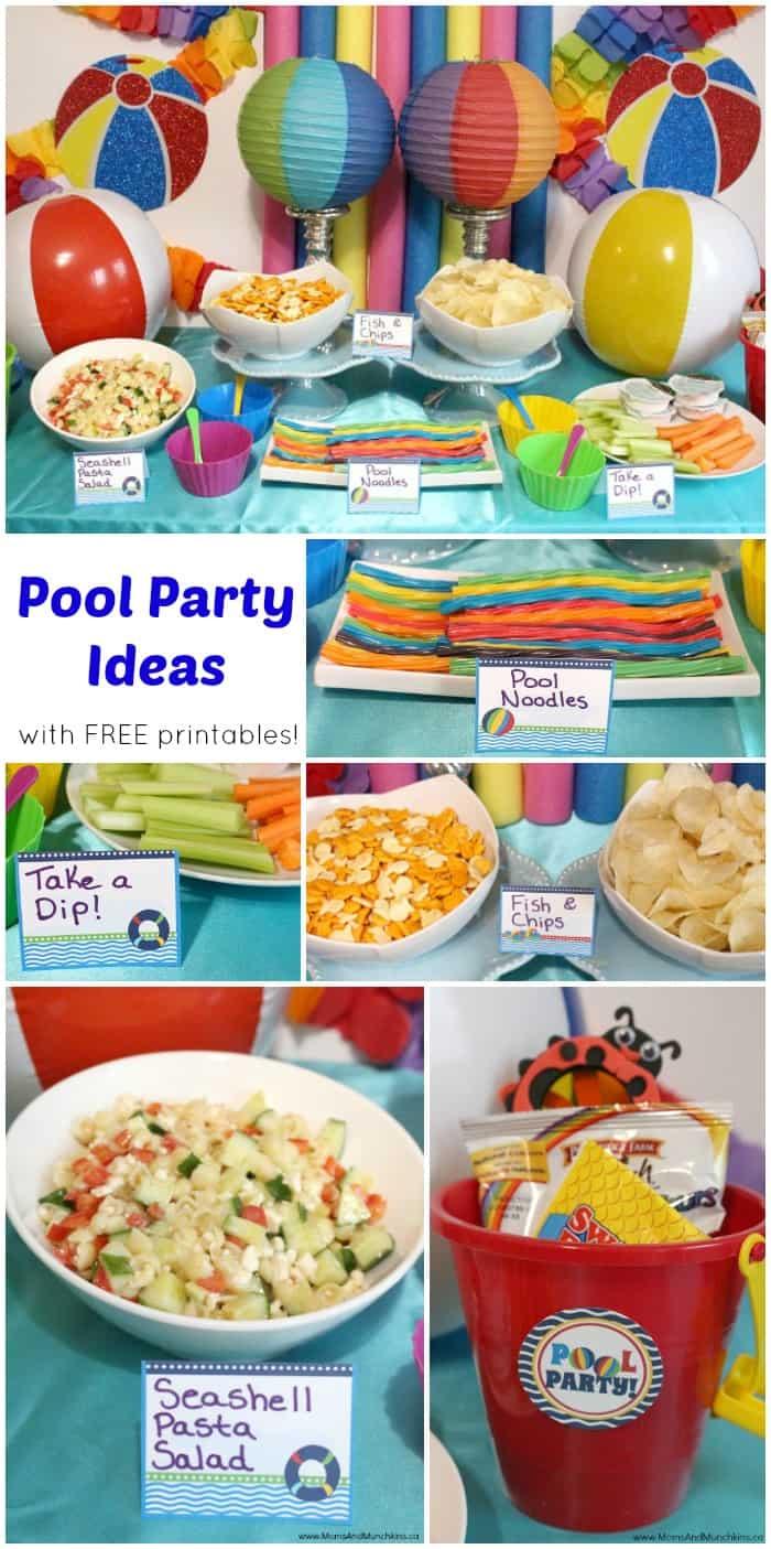 Pool Party Printables Free Moms Munchkins