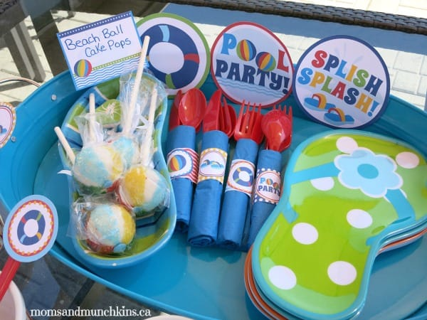 Pool Party Printables - family party