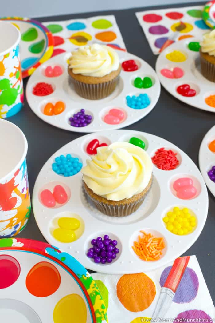 Art Birthday Party Ideas For Kids