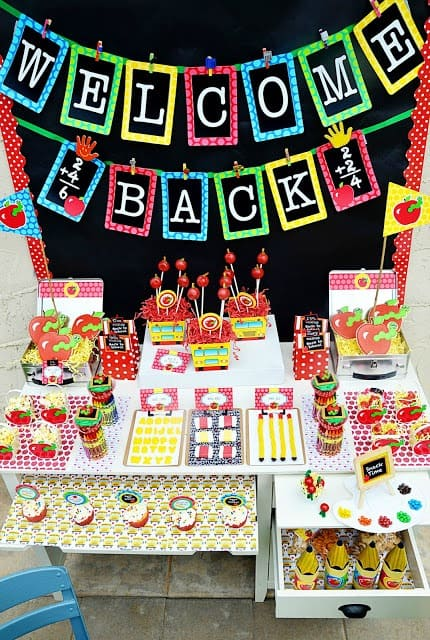 Back to School Party Ideas - Amanda's Parties to Go