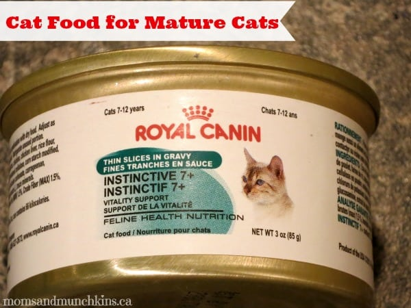 Cat Food For Mature Cats
