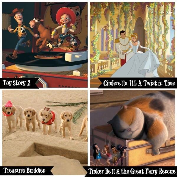 Disney Junior Canada August Movies
