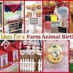 10 Creative Ideas for a Farm Animal Birthday Party