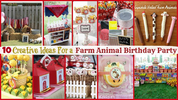 Farm Animal Birthday Party