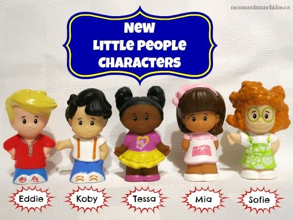 New Fisher-Price Little People