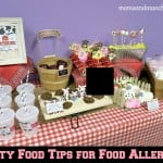 Party Food Tips for Food Allergies