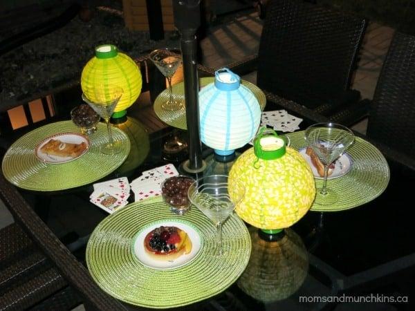 Ladies Night In Ideas - Patio Party