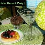 Ladies Night In Ideas - Patio Dessert Party