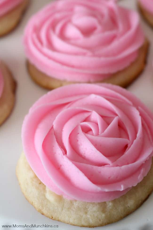 Pink Lemonade Recipes - Pink Lemonade Cookies