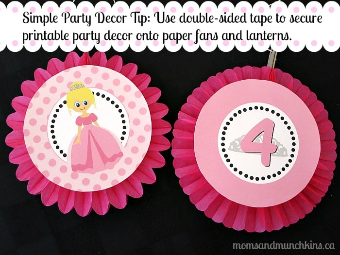 Simple Party Decorations