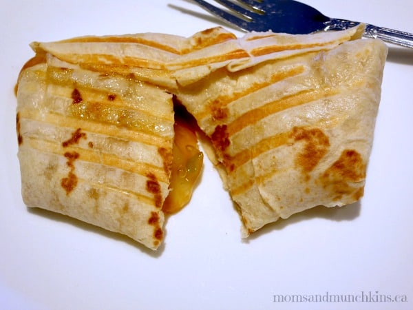 Mexican Meal Ideas - Apple Caramel Wraps